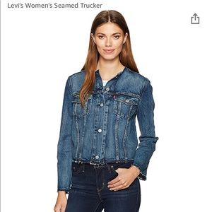 Levi's Seamed Trucker Jean Denim Jacket